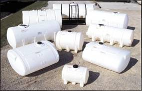 Industrial Horizontal Tanks